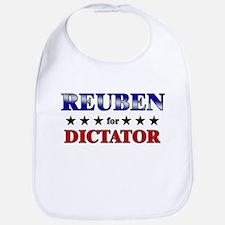 REUBEN for dictator Bib