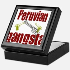 Peruvian Gangsta Keepsake Box
