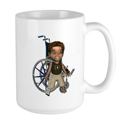 Karlo Broken Right Leg Large Mug