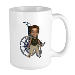 Karlo Broken Left Leg Mug