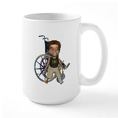 Karlo Broken Left Leg Mug