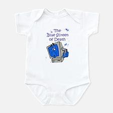 The Blue Screen of Death Infant Bodysuit