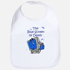 The Blue Screen of Death Bib