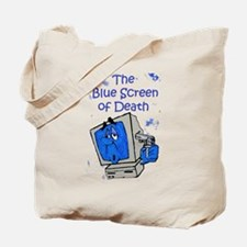 The Blue Screen of Death Tote Bag