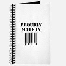 Proudly made in Peru Journal