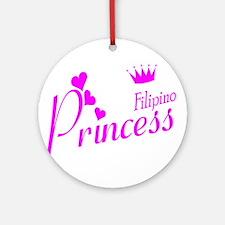 Philippines princess Ornament (Round)
