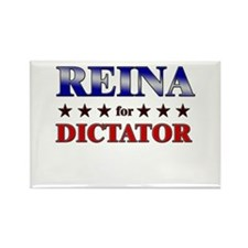 REINA for dictator Rectangle Magnet
