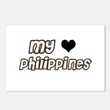 my heart Philippines Postcards (Package of 8)