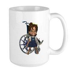 Katrina Broken Left Arm Large Mug