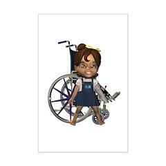 Katrina Broken Left Arm Mini Poster Autograph Prin