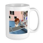 Kevin Sick Large Mug