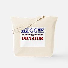 REGGIE for dictator Tote Bag