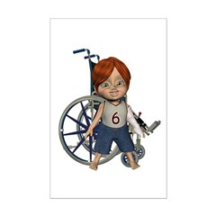 Kevin Broken Left Arm Mini Poster Autograph Print