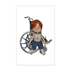 Kevin Broken Left Leg Mini Poster Autograph Print