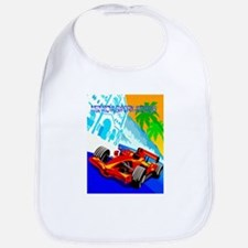 International Grand Prix Auto Racing Print Bib