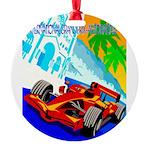 International Grand Prix Auto Racing Print Round O