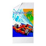International Grand Prix Auto Racing Print Beach T