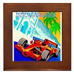 International Grand Prix Auto Racing Print Framed