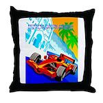 International Grand Prix Auto Racing Print Throw P