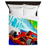 International Grand Prix Auto Racing Print Queen D