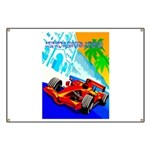 International Grand Prix Auto Racing Print Banner
