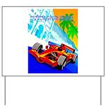 International Grand Prix Auto Racing Print Yard Si