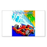 International Grand Prix Auto Racing Print Sticker