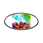 International Grand Prix Auto Racing Print Patch