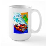 International Grand Prix Auto Racing Print Mugs