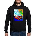 International Grand Prix Auto Racing Print Hoodie