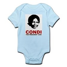 Condi Rice For President Infant Creeper