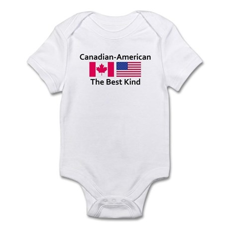 Canadian American-the Best Ki Infant Bodysuit