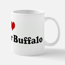 I Love My Water Buffalo Mug