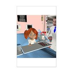 Kit Sick Mini Poster Autograph Print