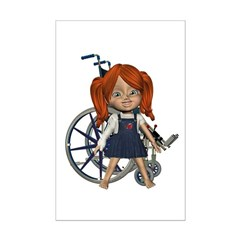Kit Broken Rt Arm Mini Poster Autograph Print