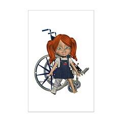 Kit Broken Rt Leg Mini Poster Autograph Print