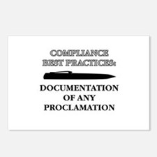Compliance Documentation Postcards (Package of 8)