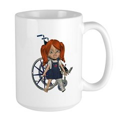 Kit Broken Left Leg Mug