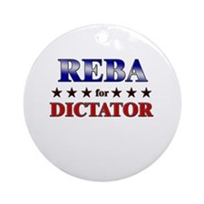 REBA for dictator Ornament (Round)
