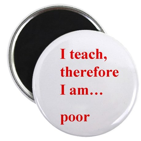 i teach therefore i can essay