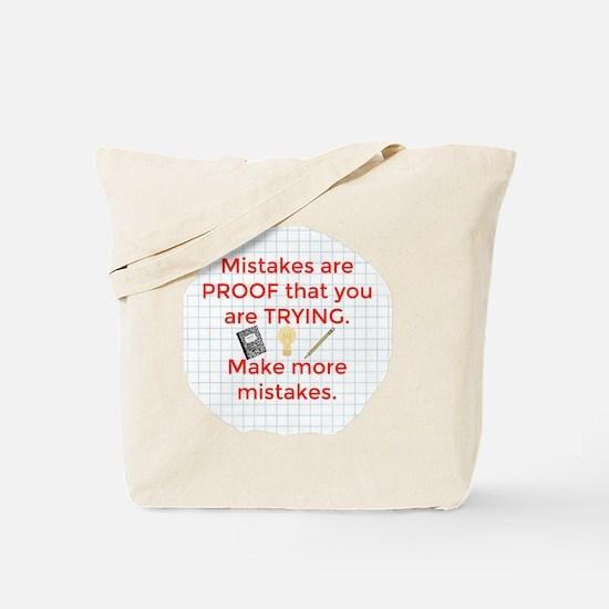 Cute Mistakes Tote Bag