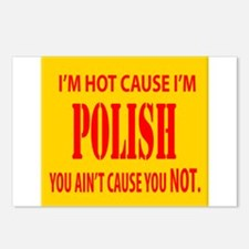 Hot Polish Postcards (Package of 8)