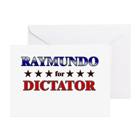 RAYMUNDO for dictator Greeting Cards (Pk of 20)
