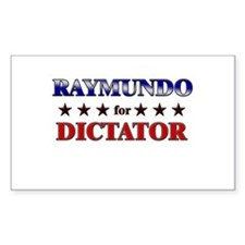 RAYMUNDO for dictator Rectangle Decal