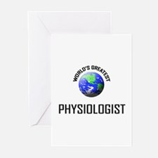 World's Greatest PHYSIOLOGIST Greeting Cards (Pk o