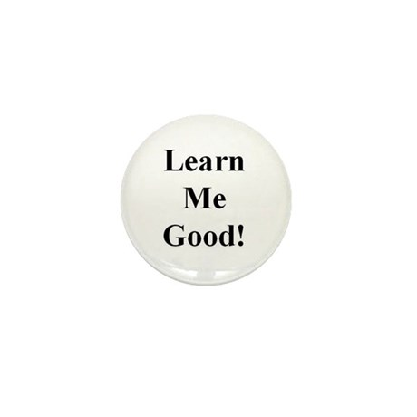 Learn Me Good Mini Button (10 pack)