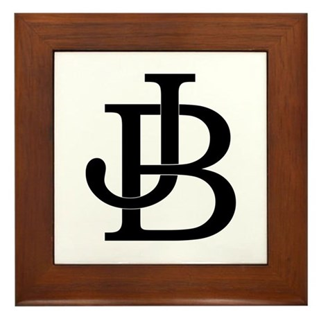 JukeB[]x logo Framed Tile