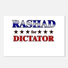 RASHAD for dictator Postcards (Package of 8)
