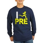 I Run PRE Long Sleeve Dark T-Shirt