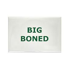 Big Boned Rectangle Magnet